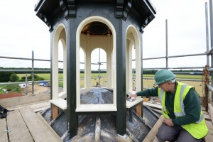 Lead Work at Holkham Estate